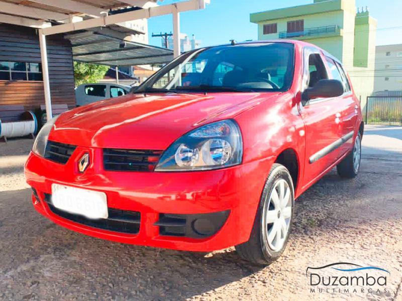 RENAULT Clio Hi-Flex 1.0 16V 5p VERMELHA Manual Flex 2011