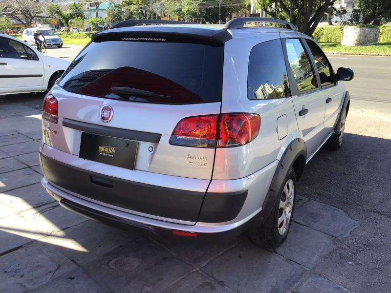 FIAT Palio Weekend Trekking 1.6 Flex 16V 5p PRATA Manual Flex 2016