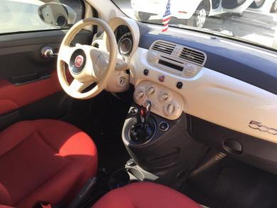 FIAT 500 Cult 1.4 Flex 8V EVO Dualogic BRANCA Semiautomático Flex 2012