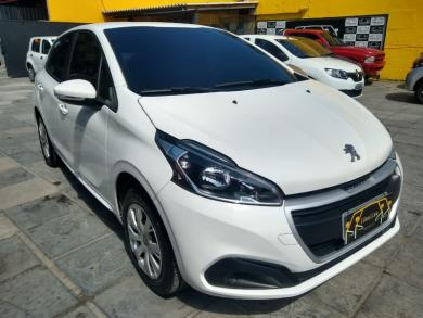 PEUGEOT 208 Active 1.2 Flex 12V 5p Mec. BRANCA Manual Flex 2018
