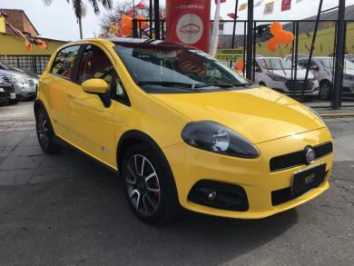 FIAT Punto T-JET 1.4 16V Turbo 5p AMARELA Manual Gasolina 2011