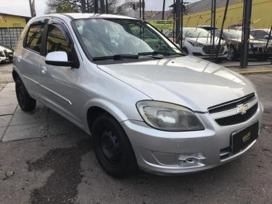 CHEVROLET Celta Spirit/ LT 1.0 MPFI 8V FlexP. 5p PRATA Manual Flex 2014