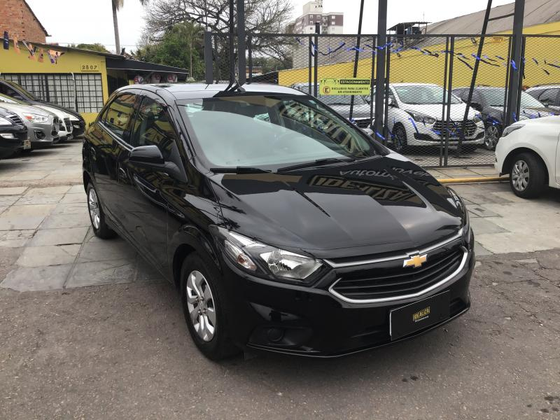 CHEVROLET ONIX HATCH LT 1.0 8V FlexPower 5p Mec. PRETA Manual Flex 2019