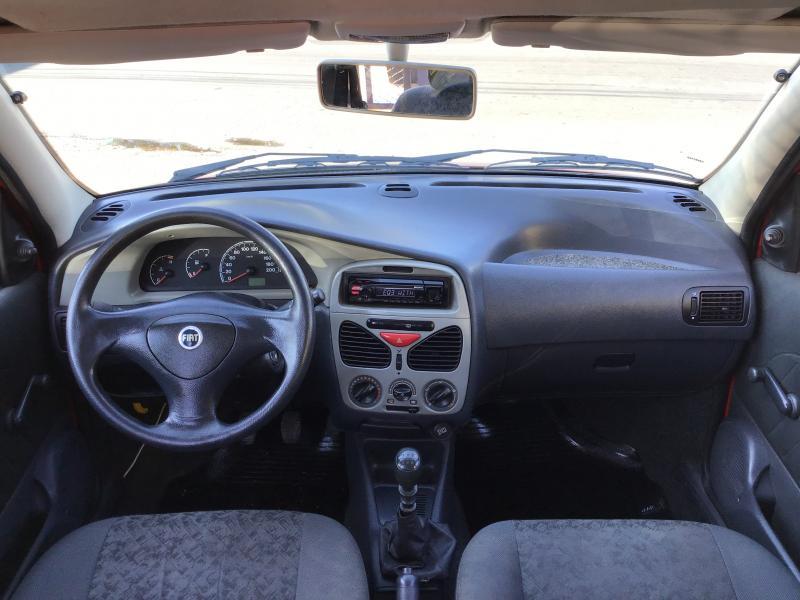 FIAT Palio Celebration 1.0 Fire Flex 8V 4p VERMELHA Manual Flex 2007