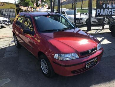 FIAT Palio Celebration 1.0 Fire Flex 8V 4p VERMELHA Manual Flex 2007