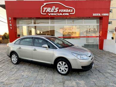 CITROEN C4 PALLAS GLX 2.0/2.0 Flex 16V Mec. PRATA Manual Flex 2010