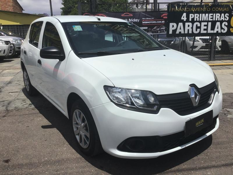 RENAULT SANDERO Authentique Flex 1.0 12V 5p BRANCA Manual Flex 2019
