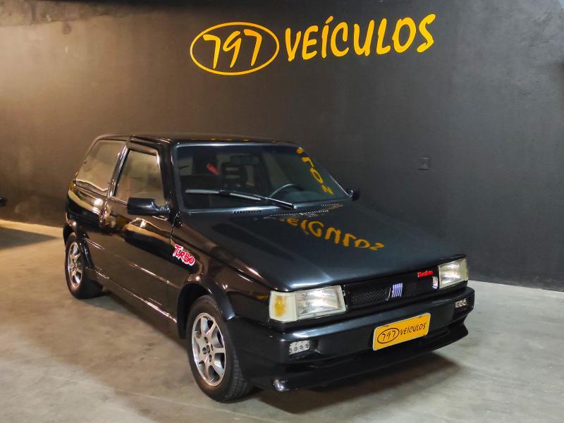 FIAT UNO TURBO IE PRETA Manual Gasolina 1994