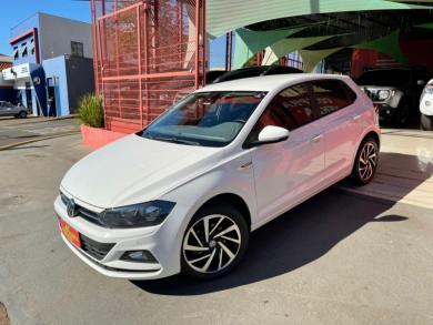 VOLKSWAGEN Polo Comfort. 200 TSI 1.0 Flex 12V Aut. BRANCA Automático Flex 2019