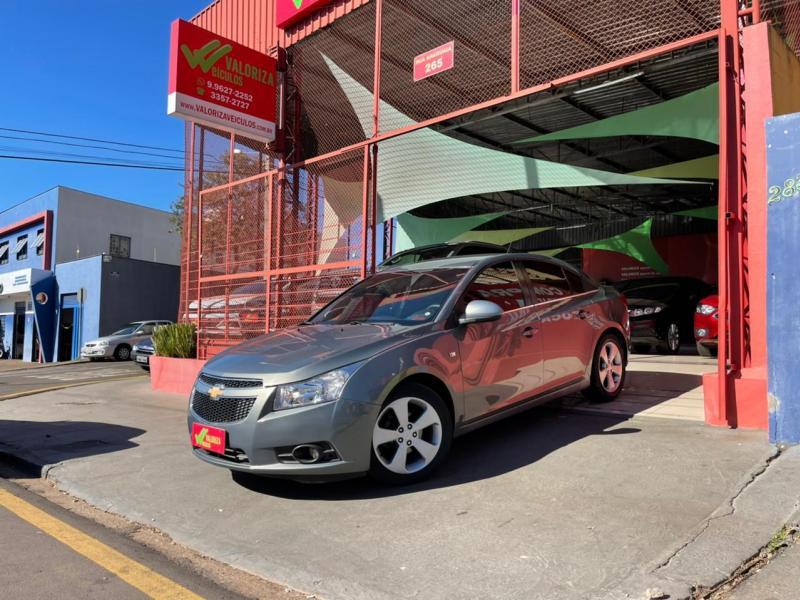 CHEVROLET CRUZE LT 1.8 16V FlexPower 4p Aut. CINZA Automático Flex 2012