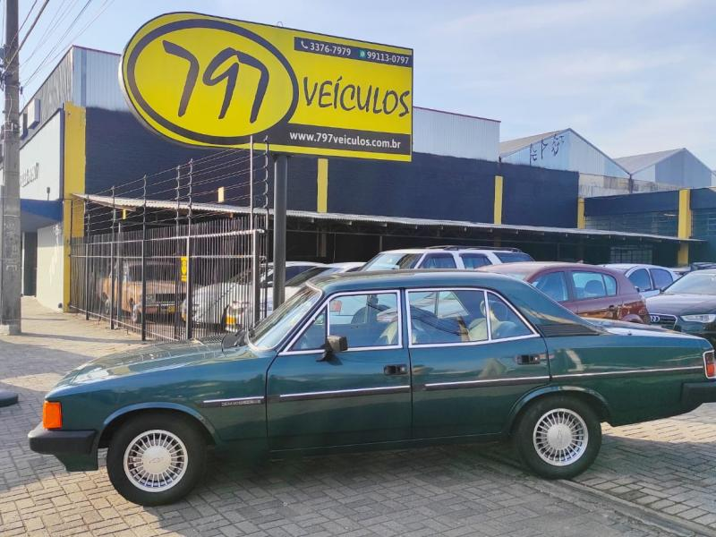 CHEVROLET Opala Comodoro SL/E 2.5 VERDE Manual Gasolina 1989