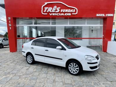 VOLKSWAGEN Polo Sedan 1.6 Mi Total Flex 8V 4p BRANCA Manual Flex 2008