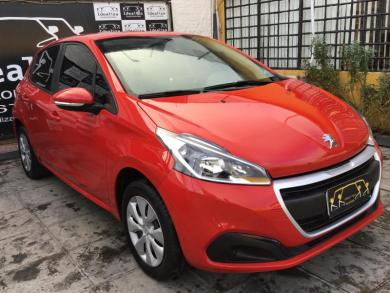 PEUGEOT 208 Active 1.2 Flex 12V 5p Mec. VERMELHA Manual Flex 2018