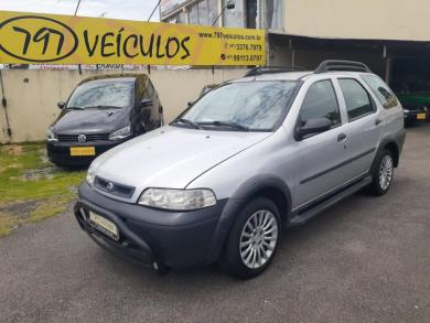 FIAT PALIO WEEK ADVENTURE 1.8 8V PRATA Manual Gnv 2004