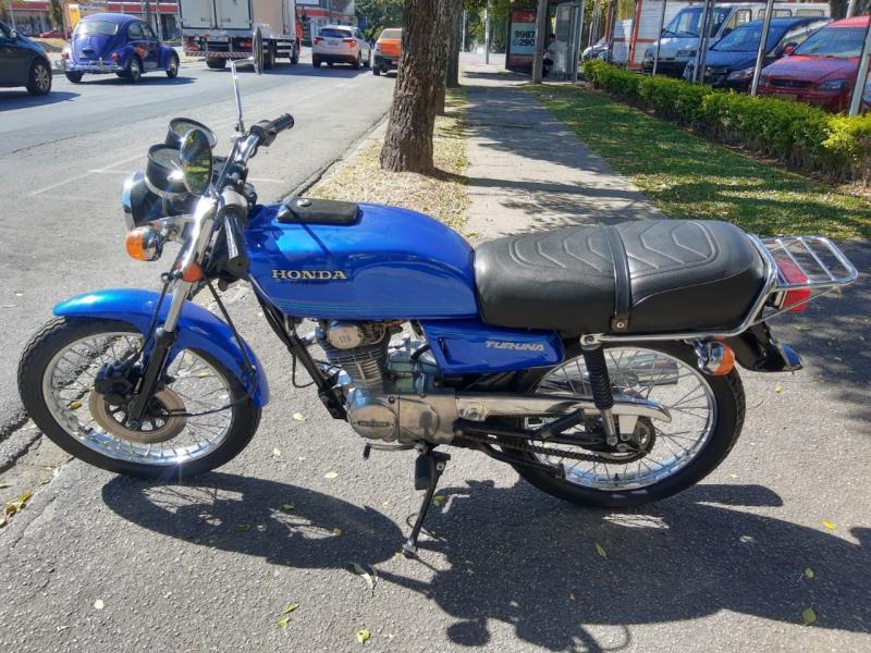 HONDA TURUNA AZUL Manual Gasolina 1981