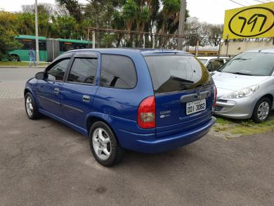 CHEVROLET Corsa Wagon Super 1.6 8v AZUL Manual Gasolina 2001