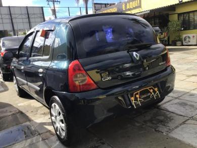 RENAULT Clio Authentique Hi-Flex 1.0 16V 5p VERDE Manual Gasolina 2006