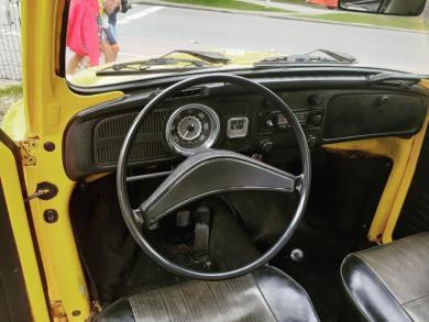 VOLKSWAGEN FUSCA 1300 AMARELA Manual Gasolina 1973