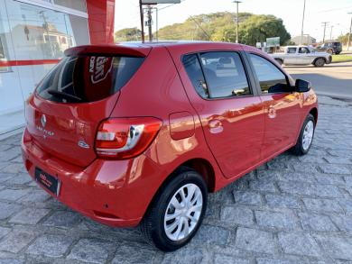 RENAULT SANDERO Expression Hi-Power 1.0 16V 5p VERMELHA Manual Flex 2016