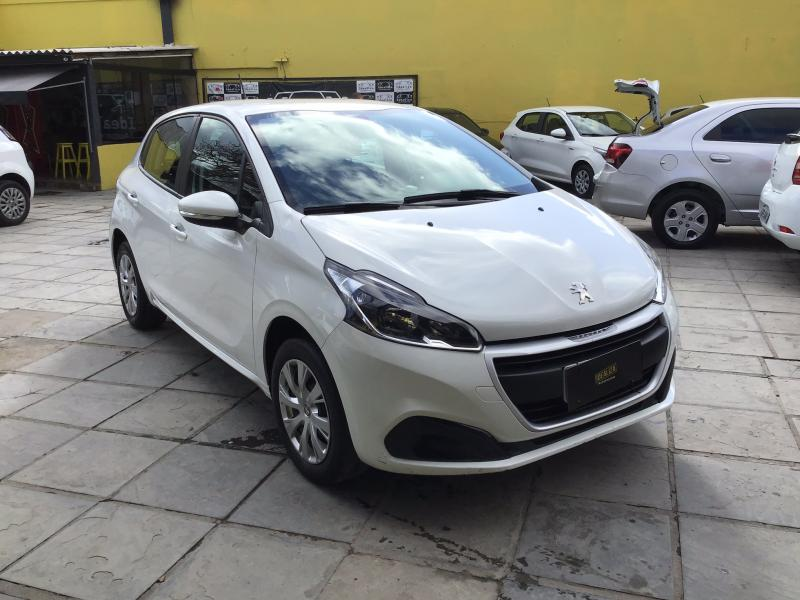 PEUGEOT 208 Active 1.2 Flex 12V 5p Mec. BRANCA Manual Flex 2019