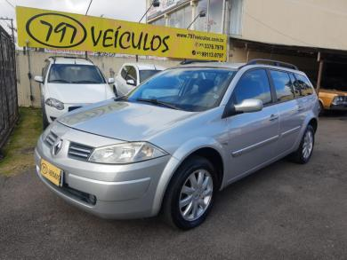 RENAULT Megane Grand Tour Dynam Flex 1.6 PRATA Manual Gasolina 2010