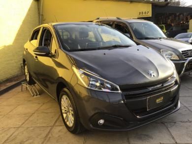 PEUGEOT 208 Active 1.2 Flex 12V 5p Mec. CINZA Manual Flex 2020