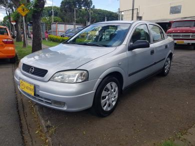 CHEVROLET Astra Sedan 2.0 MPFI 8V 4p Aut. PRATA Manual Gasolina 2002