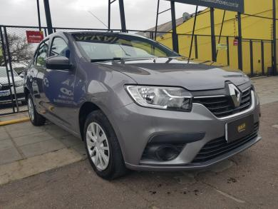 RENAULT LOGAN Zen Flex 1.0 12V 4p Mec. CINZA Manual Flex 2020