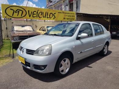 RENAULT CLIO SEDAN PRIVILEGE 1.6 FLEX PRATA Manual Flex 2008
