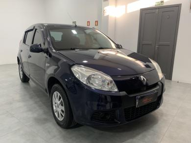 RENAULT SANDERO Expression Hi-Flex 1.0 16V 5p AZUL Manual Flex 2012