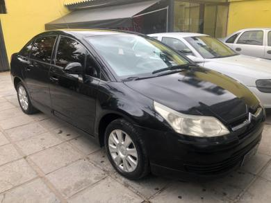 CITROEN C4 PALLAS GLX 2.0/2.0 Flex 16V Mec. PRETA Manual Gnv-Flex 2010
