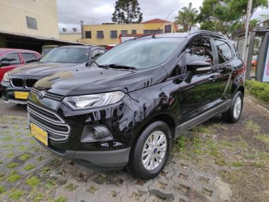FORD EcoSport SE 1.6 16V Flex 5p Aut. PRETA Manual Flex 2017