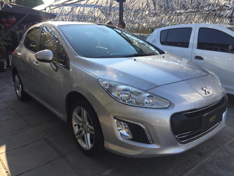 PEUGEOT 308 Active 1.6 Flex 16V 5p mec. PRATA Manual Flex 2015