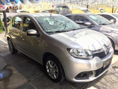 RENAULT SANDERO Expression Flex 1.0 12V 5p PRATA Manual Flex 2020