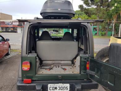JEEP Wrangler  Sport 4.0 4X4 Autom VERDE Automático Gasolina 1998