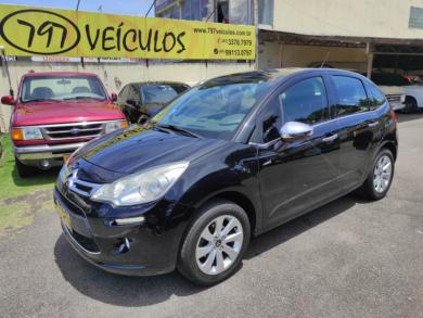 CITROEN C3 EXCLUSIVE 1.5 FLEX MANUAL PRETA Manual Flex 2015