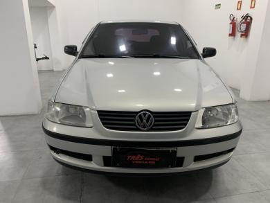 VOLKSWAGEN Gol 1.0 Plus 16v 4p PRATA Manual Gasolina 2001