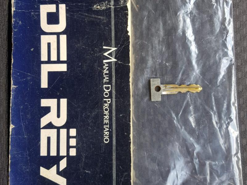 FORD Del Rey L 1.8 / 1.6 2p e 4p VERDE Manual Álcool 1988