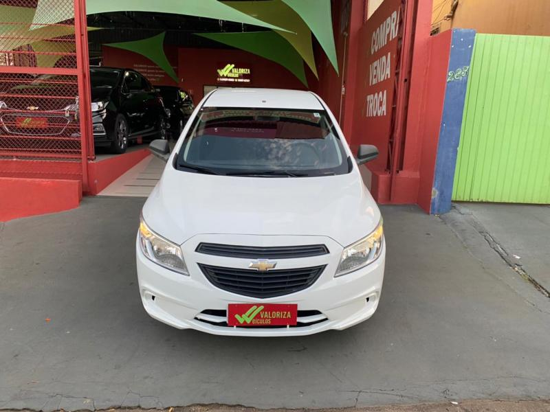 CHEVROLET ONIX HATCH Joy 1.0 8V Flex 5p Mec. BRANCA Manual Flex 2018