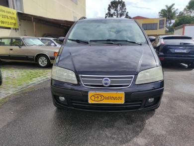 FIAT IDEA ELX 1.4 8V FLEX PRETA Manual Flex 2008
