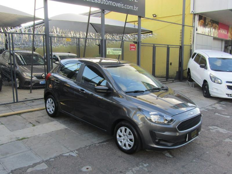 FORD Ka 1.0 SE/SE Plus TiVCT Flex 5p CINZA Manual Flex 2020